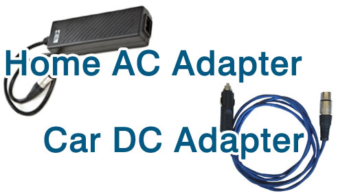 Oxlife Independence Home AC Adapter and Car DC Adapter