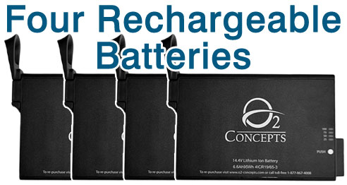 Oxlife Independence Four Batteries
