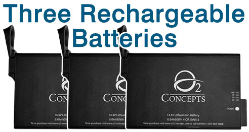Oxlife Independence Three Batteries