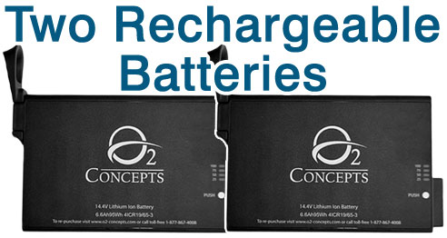 Oxlife Independence Two Batteries