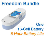Inogen One G3 Freedom Battery Bundle from OxiMedical Respiratory