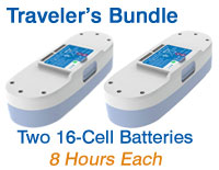 Inogen One G3 Traveler's Battery Bundle from OxiMedical Respiratory