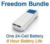 Inogen One G2 Freedom Battery Bundle from OxiMedical Respiratory