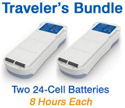 Inogen One G2 Traveler's Battery Bundle from OxiMedical Respiratory