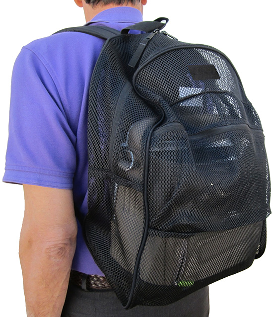 SimplyGo and SimplyFlo Back Pack to Easily Carry Your Oxygen Concentrator